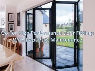 Sliding & folding door system: How to repair & maintenance door services?