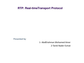 What is RTP?