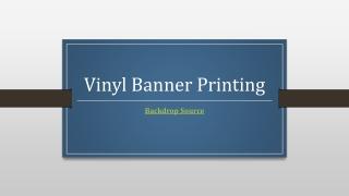 VinylBannerPrinting