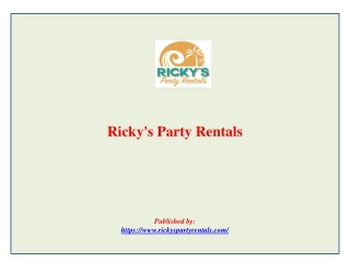 Ricky's Party Rentals