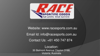 Get The Best Athletic Goods in Melbourne