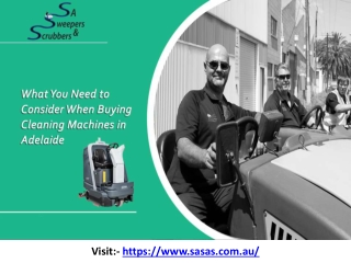 What You Need to Consider When Buying Cleaning Machines in Adelaide