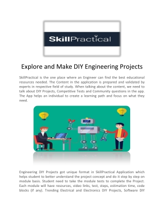 Competitive Exams For Engineers - Skill Practical