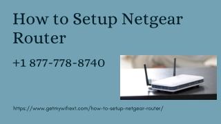 Login into Netgear Router and Netgear Router Setup