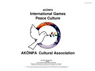 AKÖNPA Cultural Association