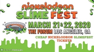 Discount Nickelodeon Slimefest 2020 Tickets