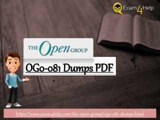 Download The Open Group OG0-081 Exam - OG0-081 Dumps Questions