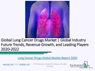 Global Lung Cancer Drugs Market Report 2020