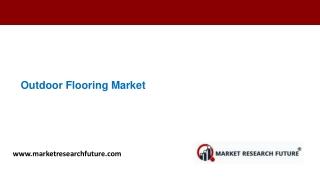 Outdoor Flooring Market