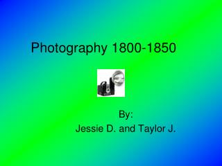 Photography 1800-1850