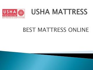 Buy Best Mattress Online - Usha Shriram
