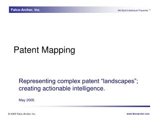 Patent Mapping