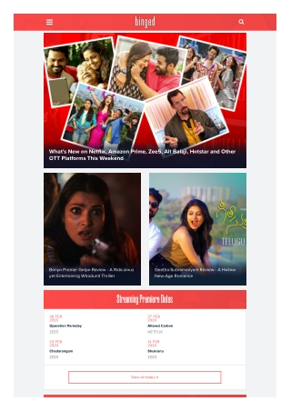 India's First Startup to Exclusively Focus on Binge Watch-Digital Content