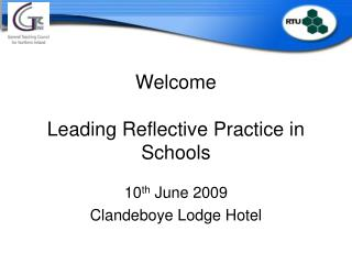Welcome Leading Reflective Practice in Schools