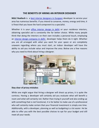 Top interior design company in delhi