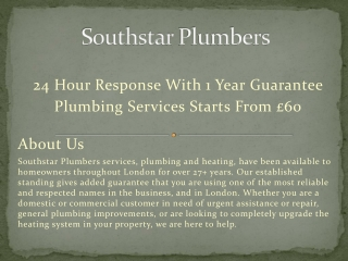 Plumbers In Earlsfield Available 24 /7 in a Day