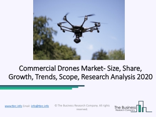 Commercial Drones Market By Manufacturers, Report Applications Analysis Forecast to 2022