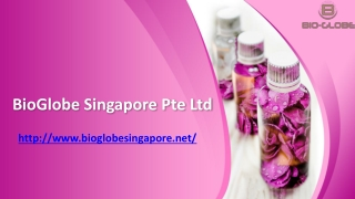 Bioglobe Singapore Pte Ltd - BioGlobe Singapore Pte Ltd