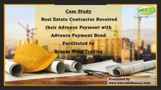 Advance Payment Bond – Advance Payment Guarantee – Advance Payments
