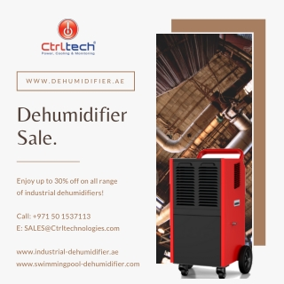 Portable dehumidifier sale in UAE, Oman, Saudi Arabia and Bahrain