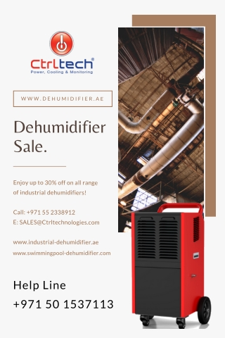 Dehumidifier for swimming pool sale in Dubai, UAE, Saudi Arabia & Oman