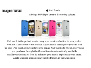 Apple Ipod Touch Features   Myimagine   Apple Store In Delhi