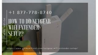 How to do Netgear WiFi Extender Setup   How to Boost WiFii Signal – Call For Quick Help