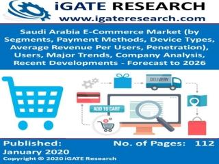 Saudi Arabia E-Commerce Market and Forecast to 2026