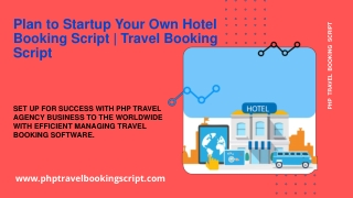 Readymade PHP Hotel Booking Script | PHP Travel Booking Script