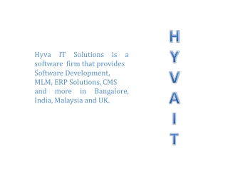 HYVA IT SOLUTIONS – ERP | CRM | SOFTWARE SERVICES | MULTIMED
