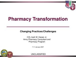 Pharmacy Transformation