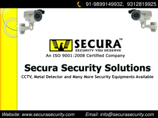 Security Surveillance Products- For Hire and Purchase