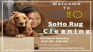 SoHo Rug Cleaning - Carpet Cleaning & Rug Cleaning Services NYC