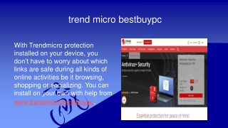 trendmicro best buypc