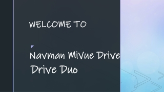 Drive Duo   Navman MiVue Drive