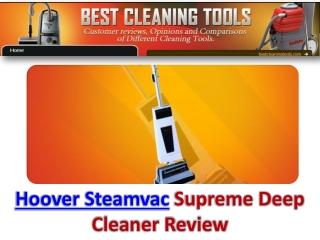 Hoover Steamvac