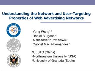 Understanding the Network and User-Targeting Properties of Web Advertising Networks