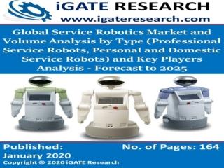 Global Service Robotics Market and Volume Forecast to 2025