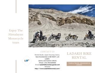 Enjoy The Himalayan Motorcycle Tours