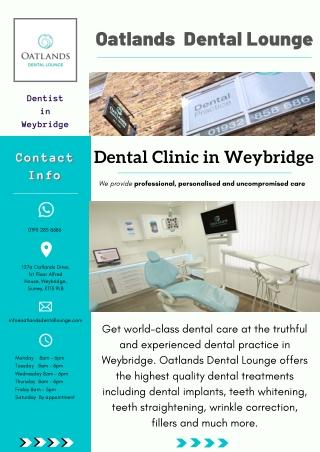 Dental Clinic in Weybridge