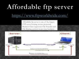 FTP Worldwide - affordable ftp server