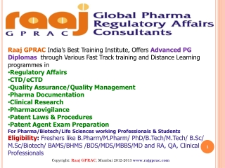 Pharmaceutical courses and training institute, Thane