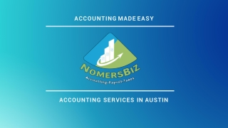 One of The Best Accounting Firms in Austin Texas - NomersBiz
