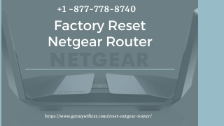 Simple Tricks to Reset Netgear Router