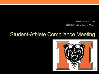 Student-Athlete Compliance Meeting
