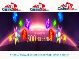 UK Online Slots Casino - Best New Online Slots Casino Site in UK