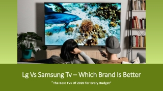 Things to consider before buying Samsung TV
