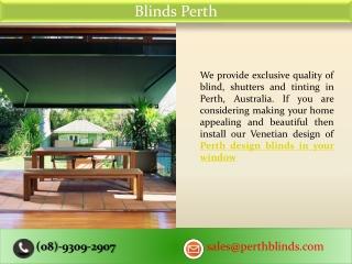 Blinds Perth