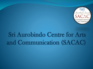 Mass Communication Institute in Delhi - SACAC