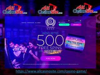 Casino Game - Best New Online Slots Casino Site in UK